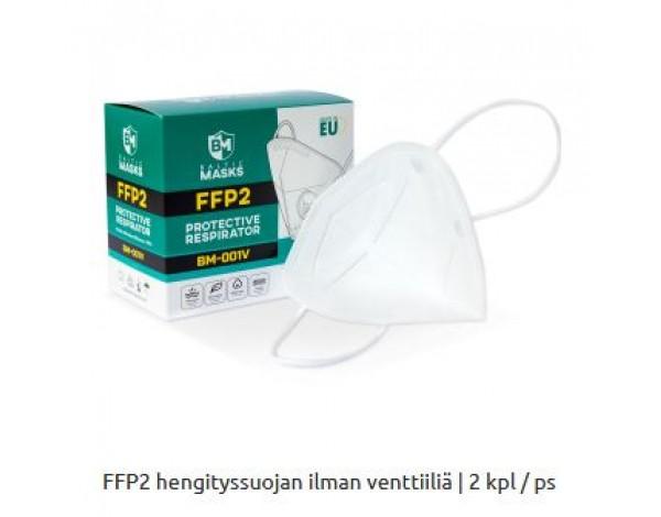 FFP2 NR suojain 10 kpl
