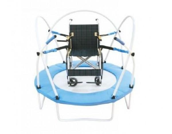 Kuntoutus trampoliini pyörätuoli malli