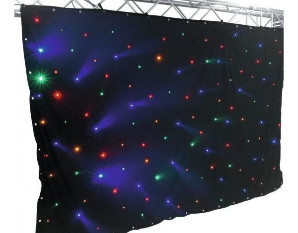 LED-efektiverho tähtitaivas